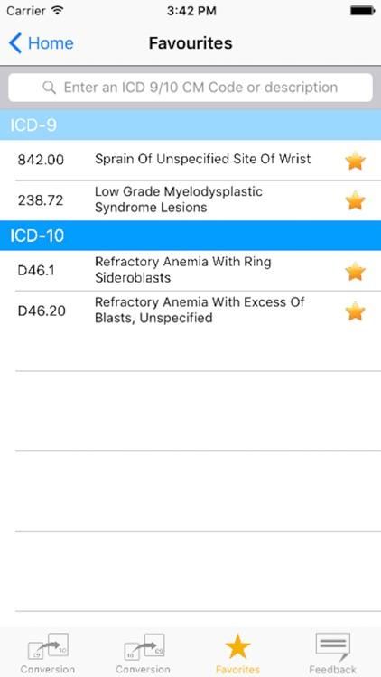ICD-9 to ICD-10 Converter screenshot-4