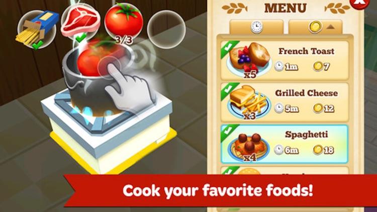 Food Shop - Restaurant Manager and Cooking Dinner screenshot-4