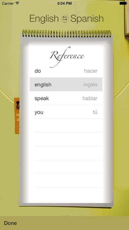 Spanish Vocabulary Trainer screenshot-3
