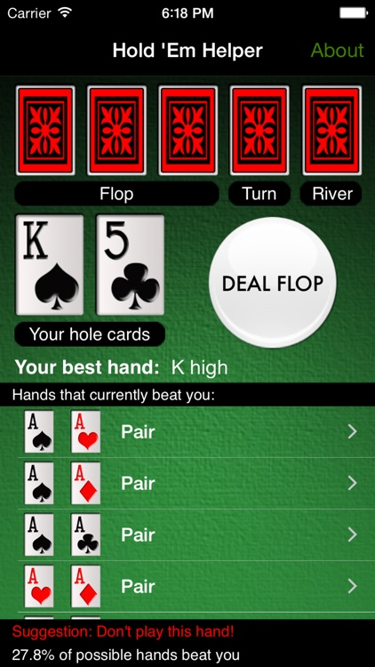 Hold 'Em Helper screenshot-3