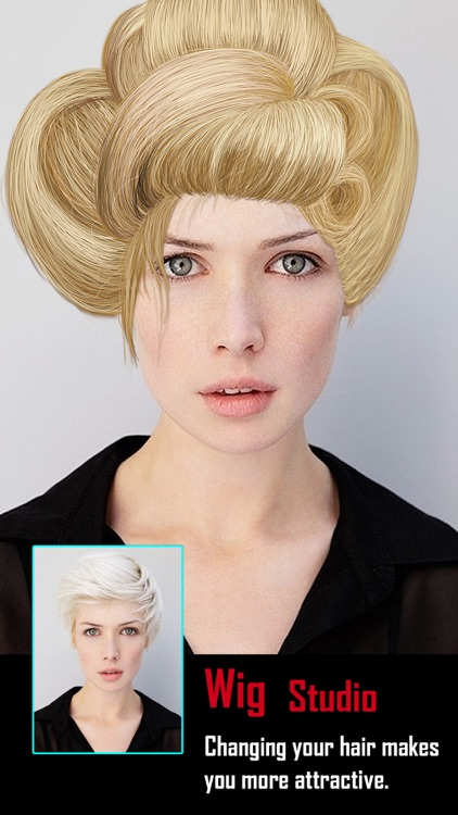 Insta Wig Studio - Hair Editor Booth to Design Hairstyle plus Change Color Effects screenshot-3