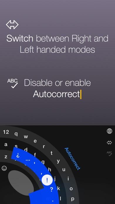 Thumbly Keyboard Screenshots