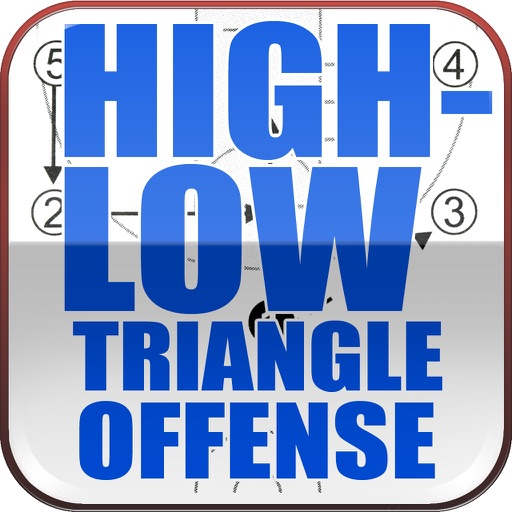 High-Low Triangle Offense: Attacking Man & Zone Defense - With Coach Lason Perkins - Full Court Basketball Training Instruction icon