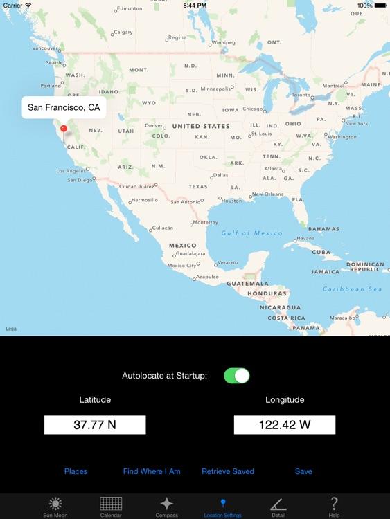 Sun n Moon for iPad screenshot-3