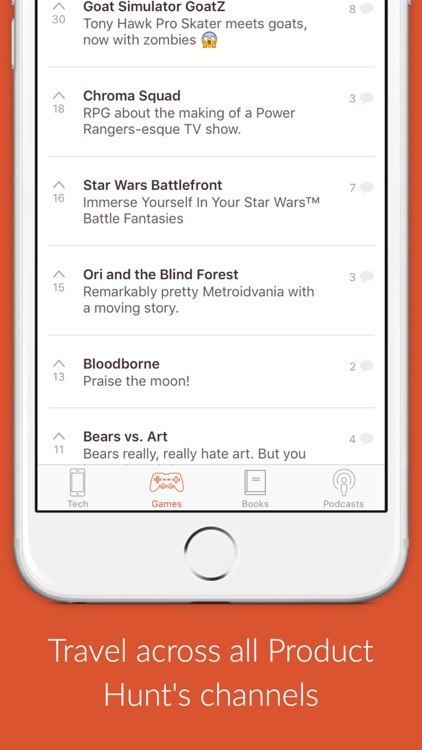 Time Machine - re-discover the best new products from Product Hunt screenshot-2