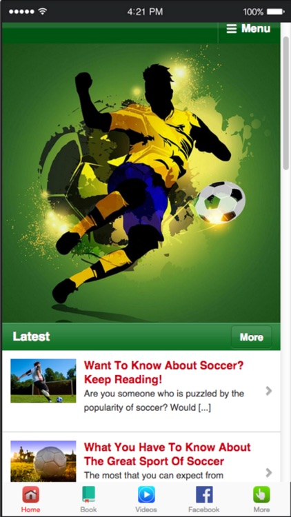 How to Play Soccer - Soccer Training Guide screenshot-4