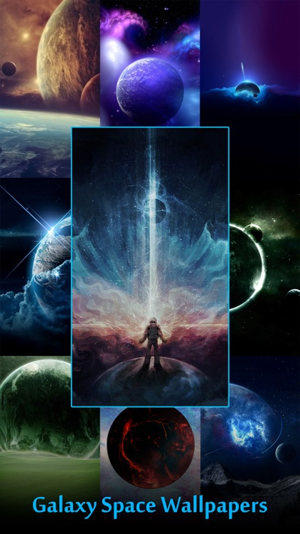 Galaxy Space Wallpapers & Backgrounds - Custom Home Screen Maker with HD Pictures of Astronomy & Planet screenshot-0