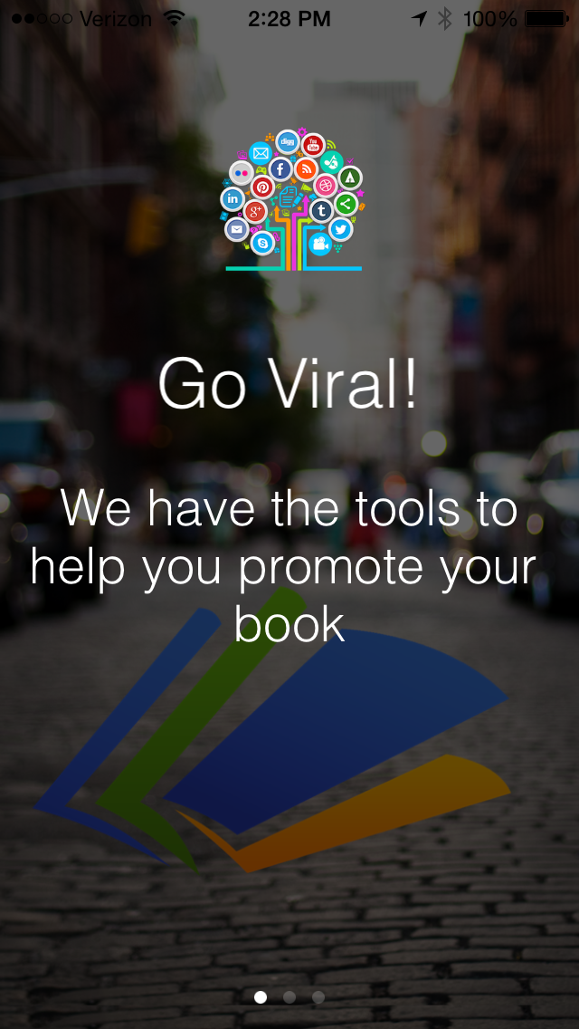 Go Viral Books - We make it easy for your fans to promote your content screenshot three