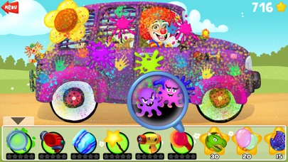 Amazing Car and Truck Wash - The free funny cars cleaning game for little kids and toddlers lite-2