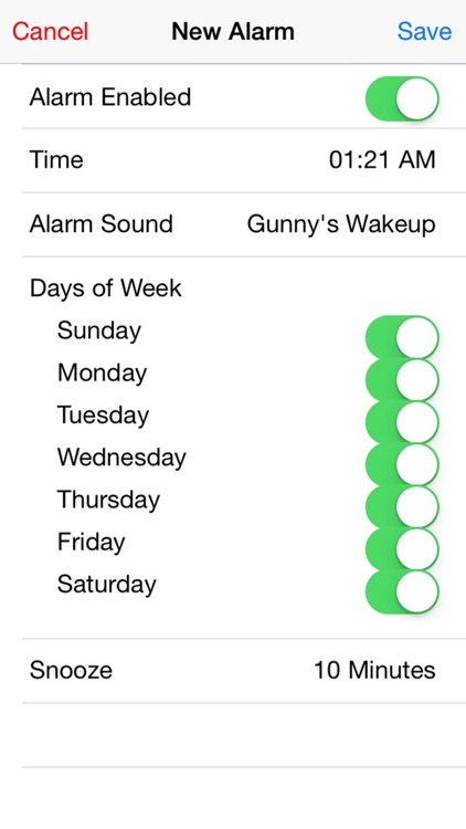 Gunny Ermey's Alarm Clock screenshot-3