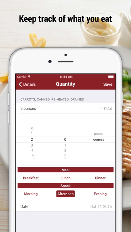 iFood Lite: Calorie Counter screenshot-2