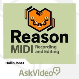 MIDI Recording & Editing For Reason