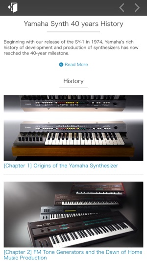 Yamaha Synth Book - US on the App Store