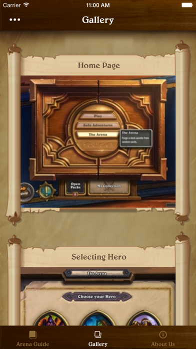 Arena Guide for Hearthstone: Heroes of Warcraft iOS Application