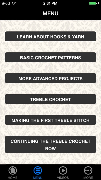 How To Crochet 101 - New Beginner's Guide screenshot-3