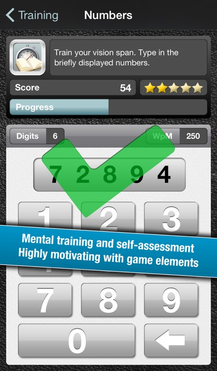 Reading Trainer for iPhone screenshot-3