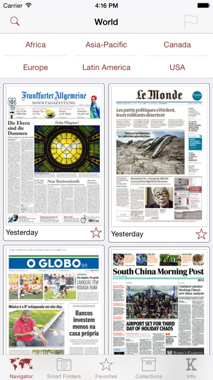 Kiosko.net - Today's Newspapers around the World
