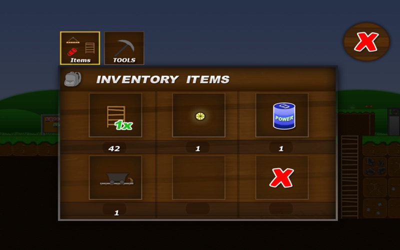 Treasure Miner Free Screenshot
