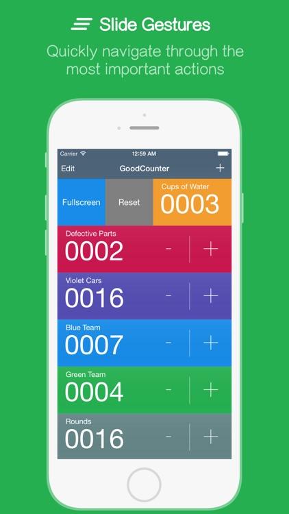 GoodCounter – A Pretty Good Tally Counter