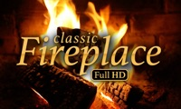 classic Fireplace – relaxing and romantic fire flames