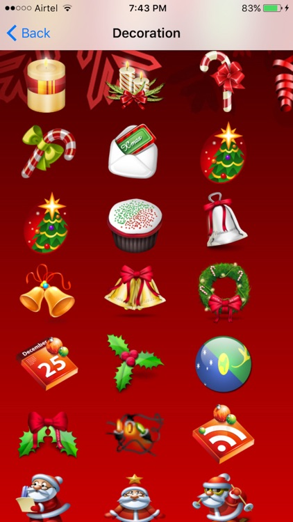 Christmas Emoji + Animated Emojis screenshot-3