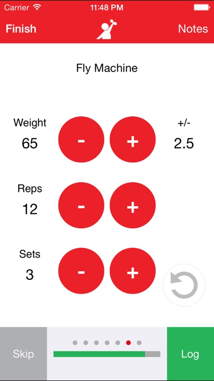 FitBuddy Gym Tracker - Workout Journal and Exercise Log. The Simple Fitness Tracker screenshot-3