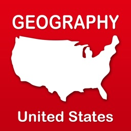 Geography of the United States of America: Map Learning and Quiz Game for Kids [Full]
