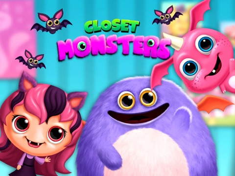 Closet Monsters - Create and Take Care of Your Baby Monster на iPad
