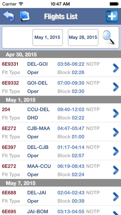 DGCA Flight Log screenshot-4