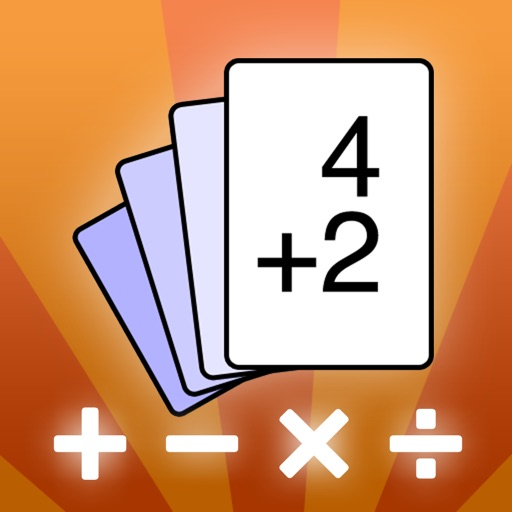 Flippin Math Facts - addition, subtraction, multiplication and division flash cards and timed tests