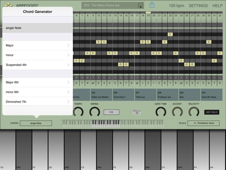 Arpeggist screenshot-2