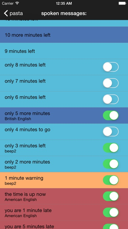 Talking Chef Timers to Check TalkTime screenshot-3