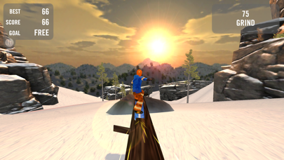 Crazy Snowboard screenshot three