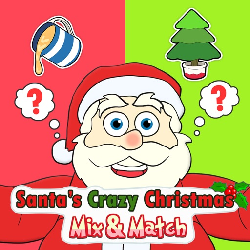Santa's Crazy Christmas Mix & Match HD