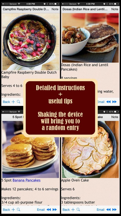 200 Pancakes Recipes
