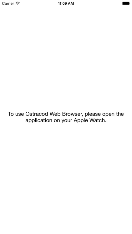 Ostracod Web Browser