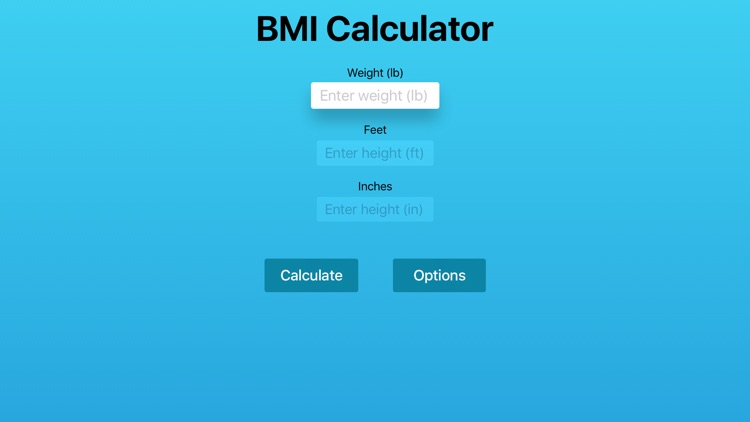 BMI Calc App TV - Free