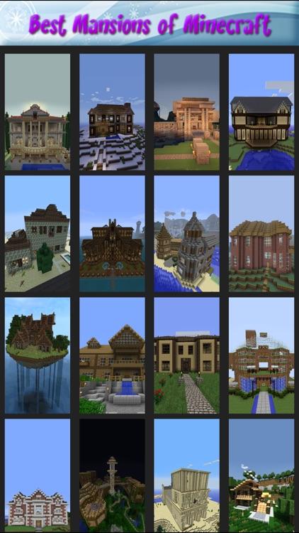 Best Mansions of Minecraft