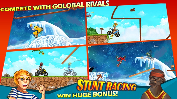 Stunt Racing - Extreme Moto Trials screenshot-3