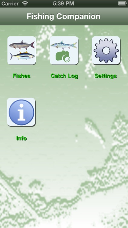 AL Saltwater Fishing Companion screenshot-0