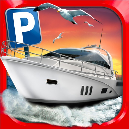 Super Yachts Parking Simulator - Real Boats Race Driving Test Park Racing Games