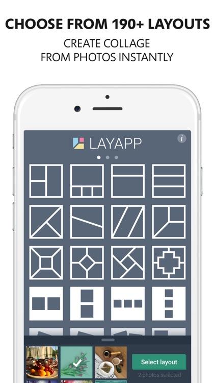 Layapp – Collage Maker & Photo Editor screenshot-0