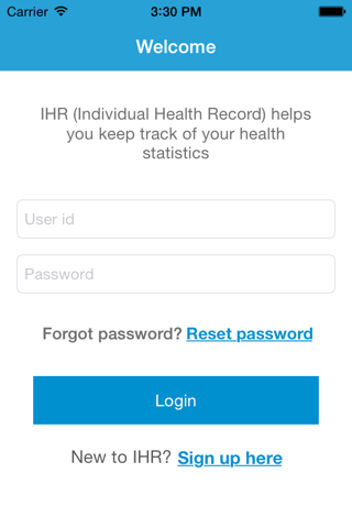 MHC Health Record - náhled