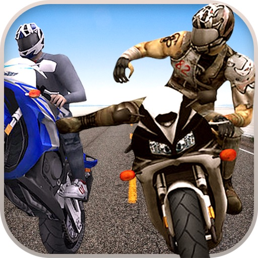 Bike attack race extreme crazy stunt rider
