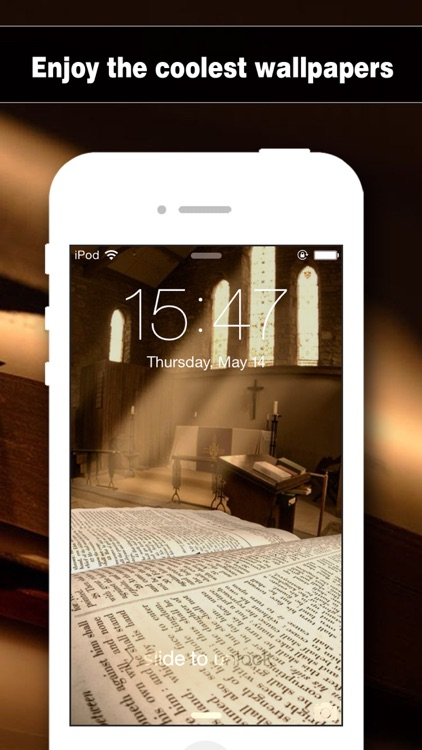 Bible Wallpapers HD - Backgrounds & Lock Screen Maker with Holy Retina Themes for iOS8 & iPhone6 screenshot-3
