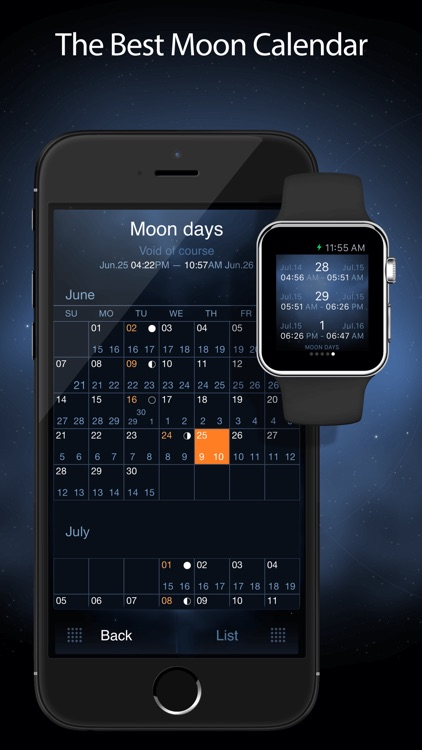 Deluxe Moon Pro - Moon Phases Calendar screenshot-2
