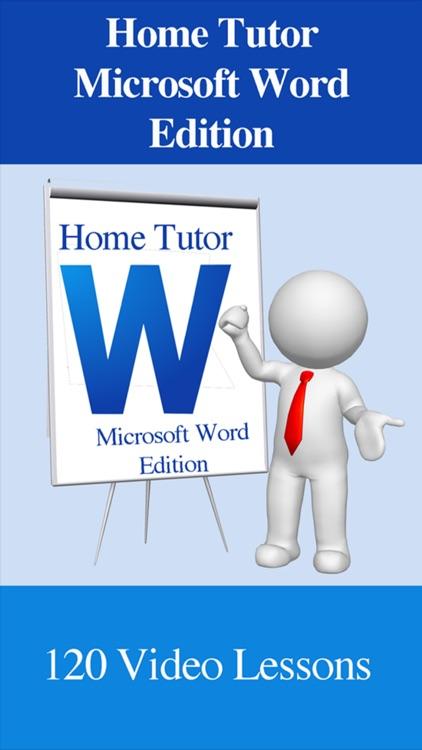 Home Tutor - Microsoft Word Edition