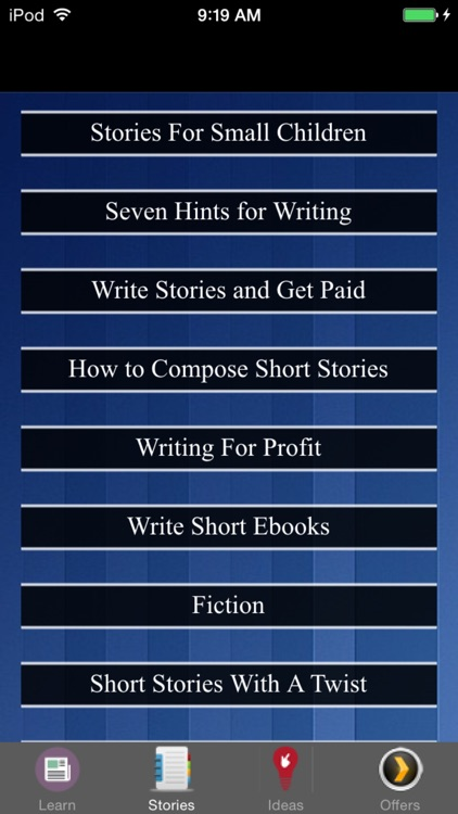 How To Write Short Stories - Fiction