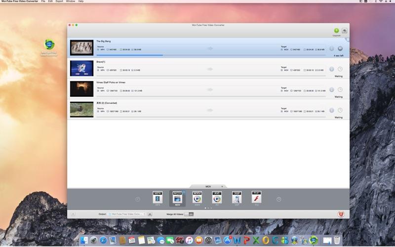 WonTube Free Video Converter скриншот программы 3