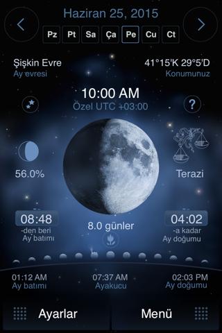 Deluxe Moon Pro - Moon Phases Calendar screenshot 1